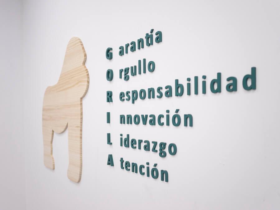 valores the gorilla vets company - veterinario en madrid